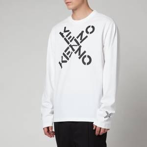 KENZO Men's Sport Long Sleeve T-Shirt - White