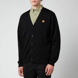 KENZO Men's Tiger Crest Buttoned Cardigan - Black
