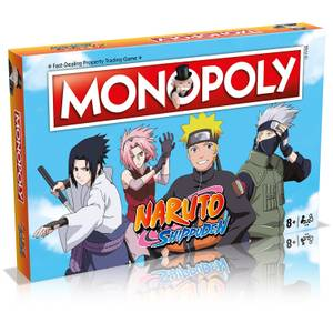 Monopoly Board Game - Naruto Edition (Online Exclusive)