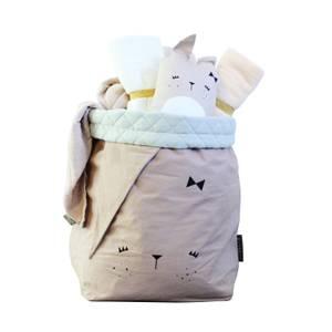 Fabelab Large Bunny Storage Bag - Mauve