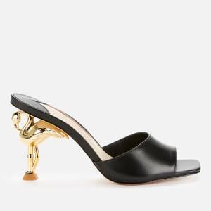 Sophia Webster Women's Flo Flamingo Mid Heeled Mules - Black/Gold