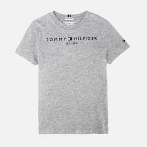 Tommy Hilfiger Kids' Essential Short Sleeve T-Shirt - Light Grey Heather