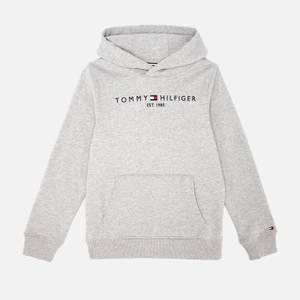 Tommy Hilfiger Kids' Essential Hoodie - Light Grey Heather