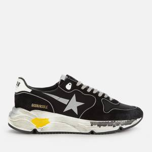 Golden Goose Deluxe Brand Men's Running Style Trainers - Black/Silver/White