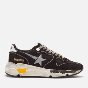 Golden Goose Deluxe Brand Women's Running Style Trainers - Black/Silver/White
