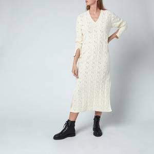 Holzweiler Women's Nim Knitted Dress - Ecru