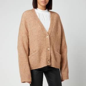 Holzweiler Women's Drive Knitted Cardigan - Camel