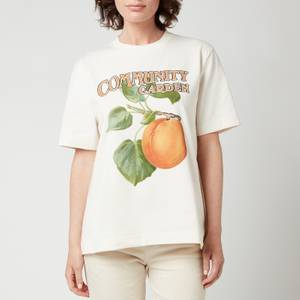 Holzweiler Women's Kjerag Peach Print T-Shirt - Ecru