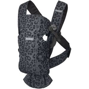 BABYBJÖRN Classics Baby Mini Carrier - Antharcite Leopard Mesh