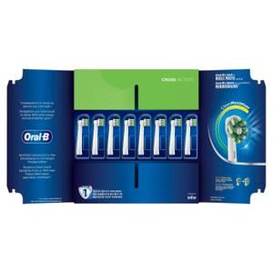 CrossAction Opzetborstels, Verpakking 8-Pak