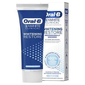 Oral-B 3DWhite Clinical Whitening Restore Diamond Clean Toothpaste 70ml