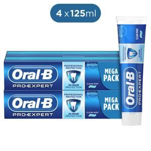 Oral-B Tandpasta Pro-Expert Professionele Bescherming 4X125 ml