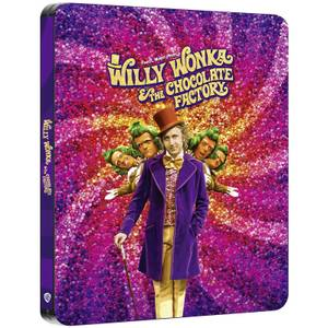 Willy Wonka & the Chocolate Factory - Zavvi Exclusive 4K Ultra HD Steelbook (Includes Blu-ray)