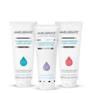 AMELIORATE Floral Transforming Body Lotion Trio