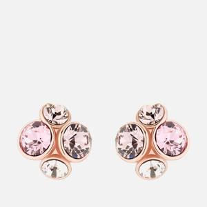 Ted Baker Women's Lynda: Jewel Earring - Rose Gold Tone/Pale Pink Multi