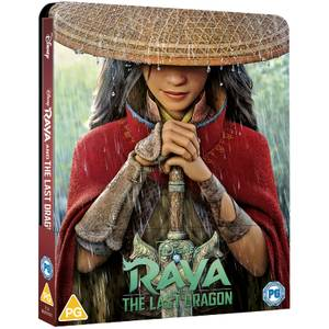 Disney's Raya and the Last Dragon - Zavvi Exclusive 4K Ultra HD Steelbook (Includes Blu-ray)