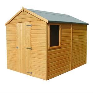 Shire Durham Shed Single Door 8x6