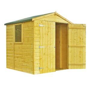 Shire Arran Shed Double Door 6x6