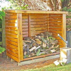 Shire Large Heavy Duty Log Store