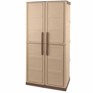 Shire Large Storage Cupboard Broom