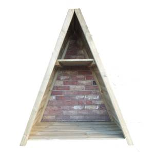 Shire Large Triangular Log Store Tongue and Groove