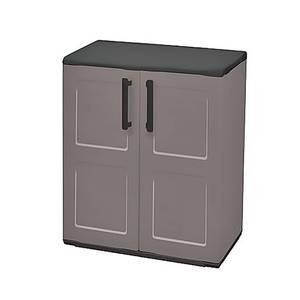 Shire Mid Storage Cupboard with Shelves