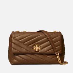 Tory Burch Women's Kira Chevron Small Convertible Shoulder Bag - Fudge