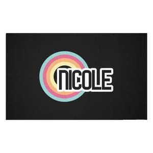 Nicole Rainbow Woven Rug