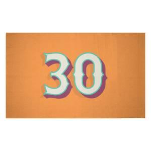 30 Woven Rug