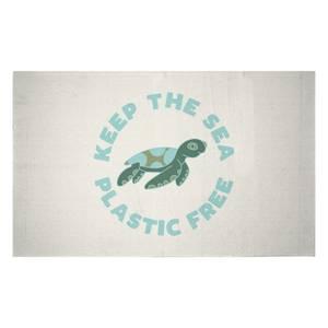 Keep The Sea Plastic Free Woven Rug