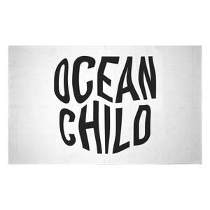 Ocean Child Woven Rug