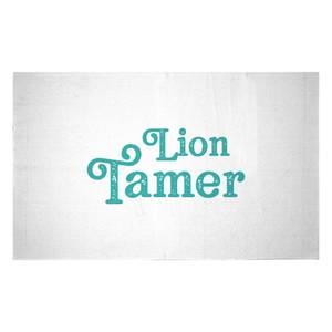 Lion Tamer Woven Rug