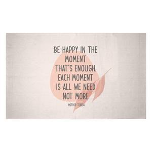 Be Happy In The Moment Woven Rug