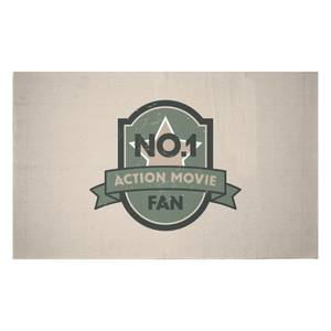 No.1 Action Movie Fan Woven Rug