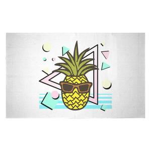 Summer Pineapple Woven Rug