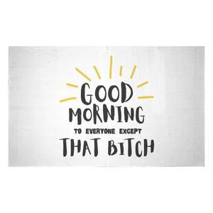Good Morning Woven Rug