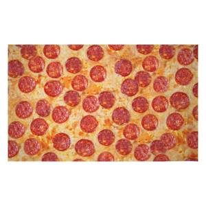 Pizza Woven Rug