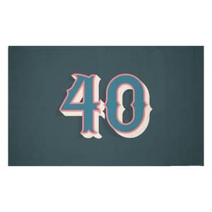 40 Woven Rug