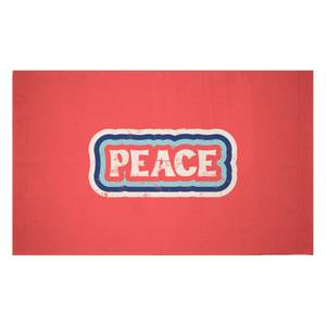 Peace Woven Rug