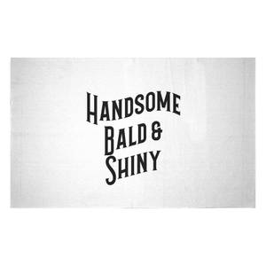 Handsome, Bald And Shiny Woven Rug