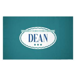 They Call Me Dean Woven Rug