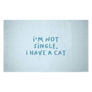 I'm Not Single, I Have A Cat Woven Rug