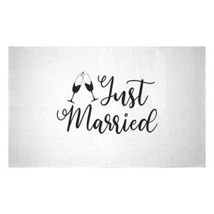 Just Married Signature Woven Rug