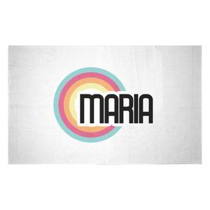 Maria Rainbow Woven Rug