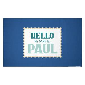 They Call Me Paul Woven Rug