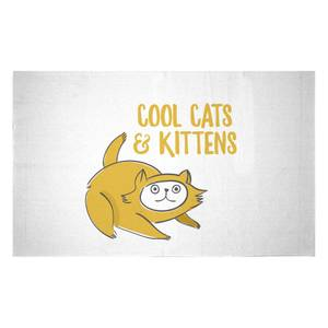 Cool Cats And Kittens Woven Rug