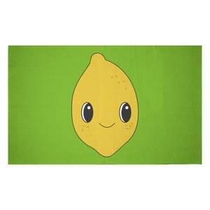 Cute Lemon Woven Rug