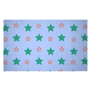 Mixed Stars Woven Rug