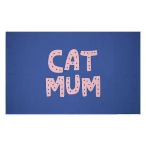 Cat Mum Woven Rug