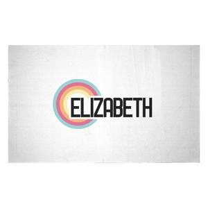 Elizabeth Rainbow Woven Rug